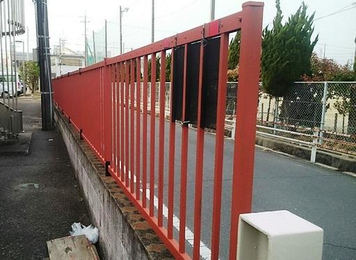 門扉と塀フェンスのリペア